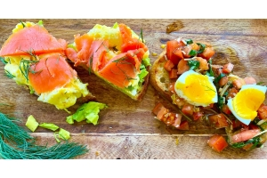 Bari egg toast feature image