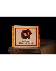 Acai Papaya Olive Oil Soap (Vegan)