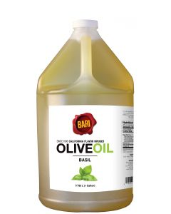 Basil Infused Olive Oil - 1 Gal